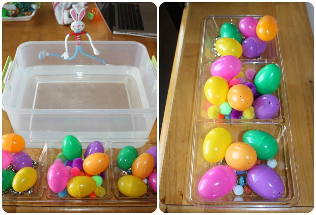 Easter Egg Sink Science Activity