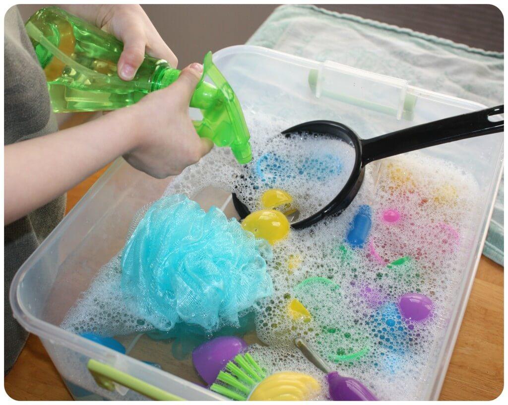 Easter Egg Washing Squirt Bottle