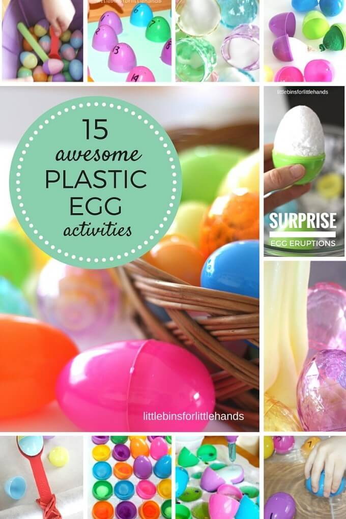 Easter plastic egg activities for kids science, sensory, math, fine motor learning-2