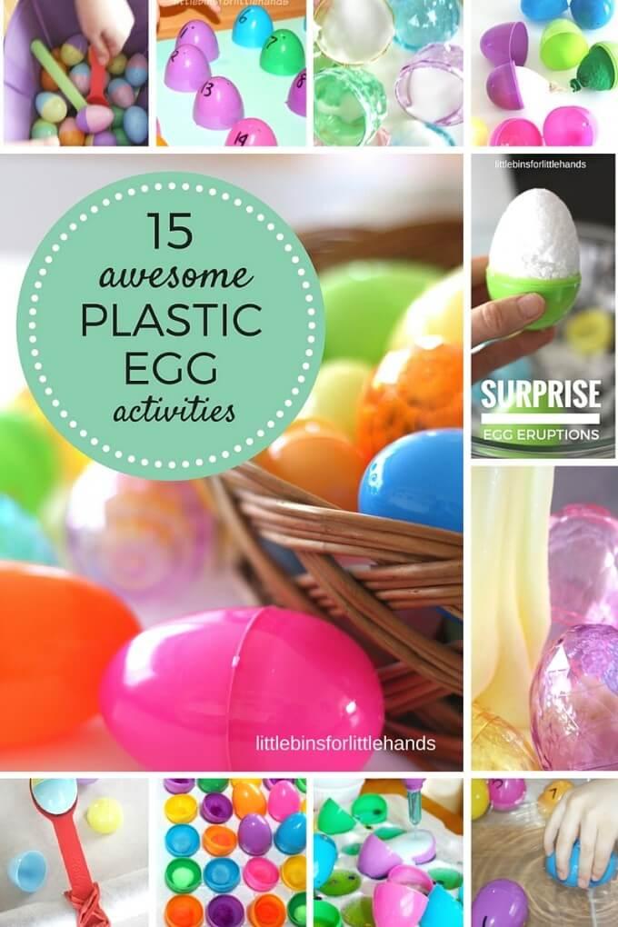 Easter plastic egg activities for kids science, sensory, math, fine motor learning-2