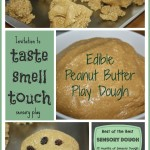 Edible Peanut Butter Play Dough Sensory Dough Activity