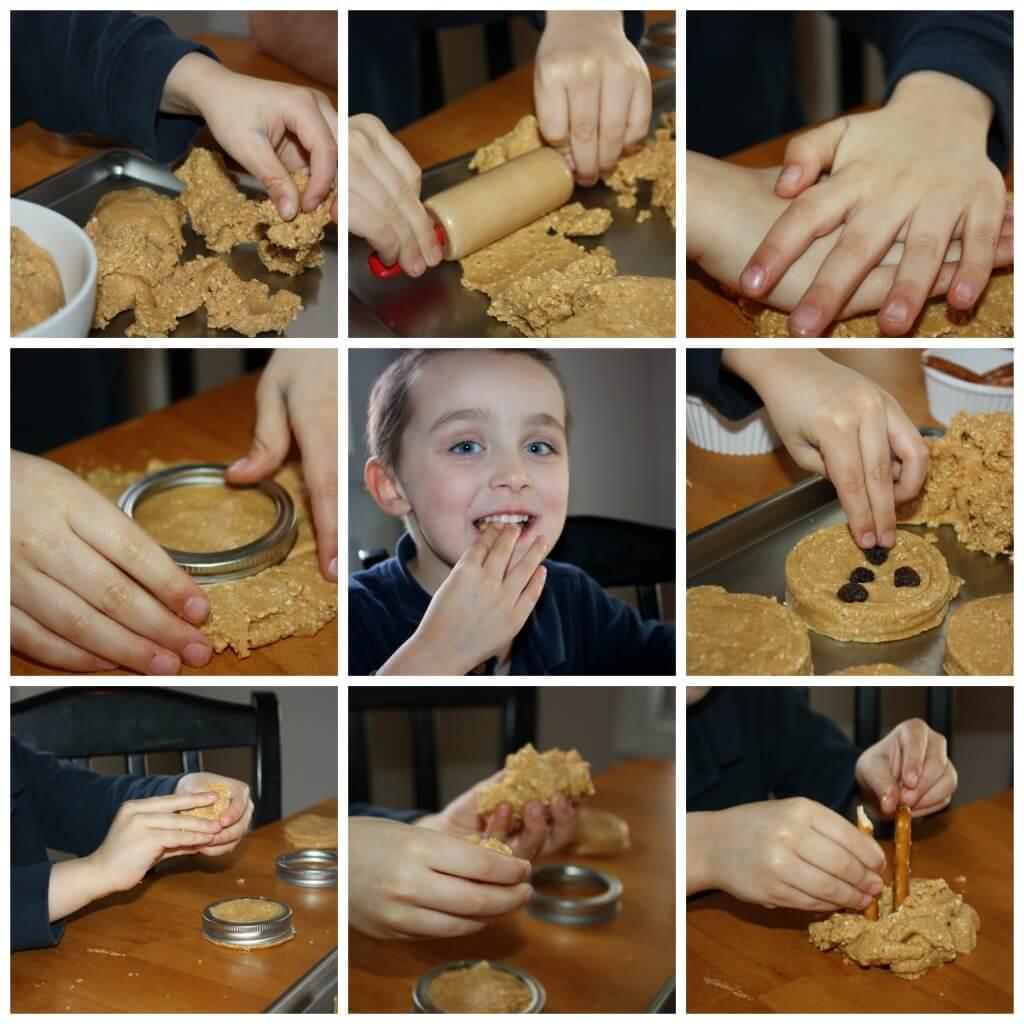 Edible Play Dough Play