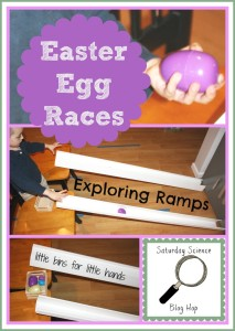 Egg Races Exploring Ramps Science Experiment