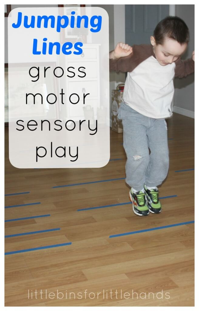 Jumping Lines Proprioceptive Gross Motor Play