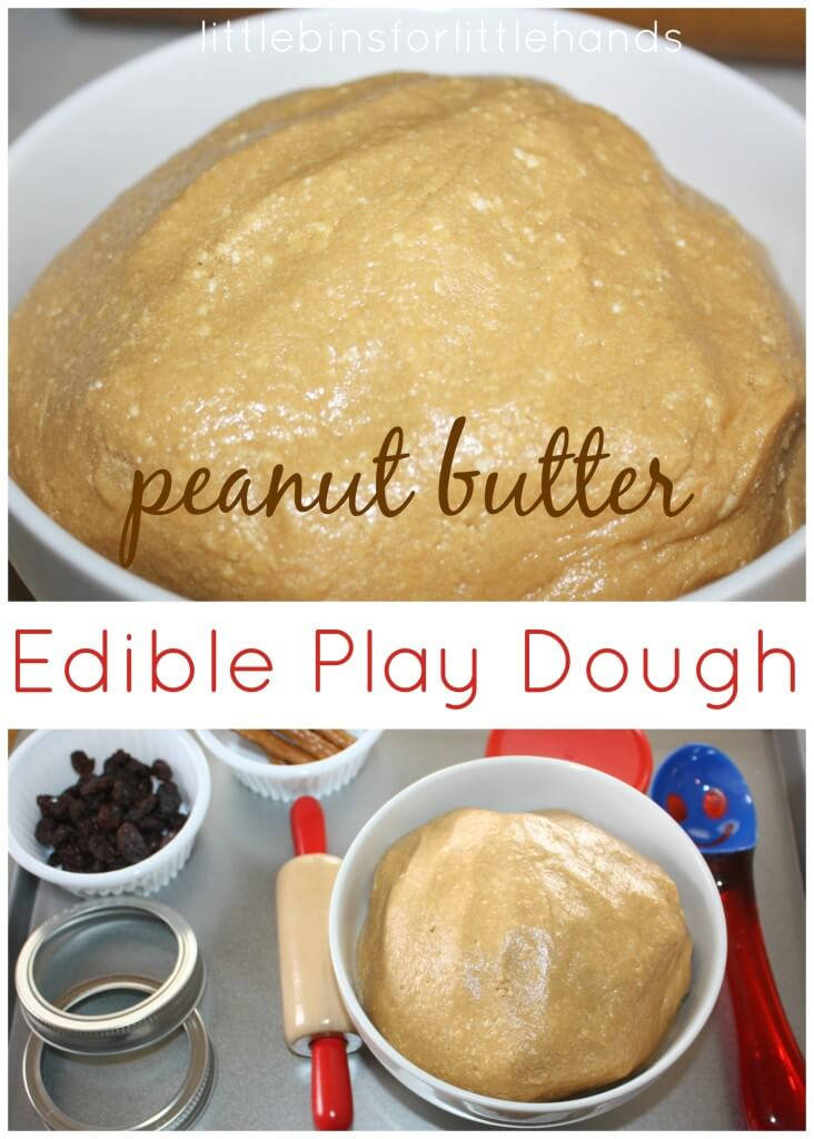 Peanut Butter Edible Play Dough