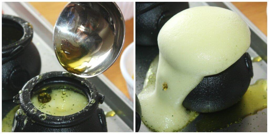 St Patricks Day Fizzing Pots Science Experiment Yellow Pot