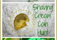 St Patricks Day Shaving Cream Playdate Activity