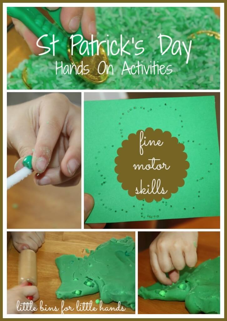 St Patricks Fine Motor Play Activities