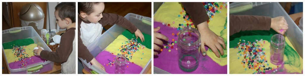 craft sand sensory bin filler 1