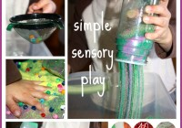 craft sand sensory bin filler activity