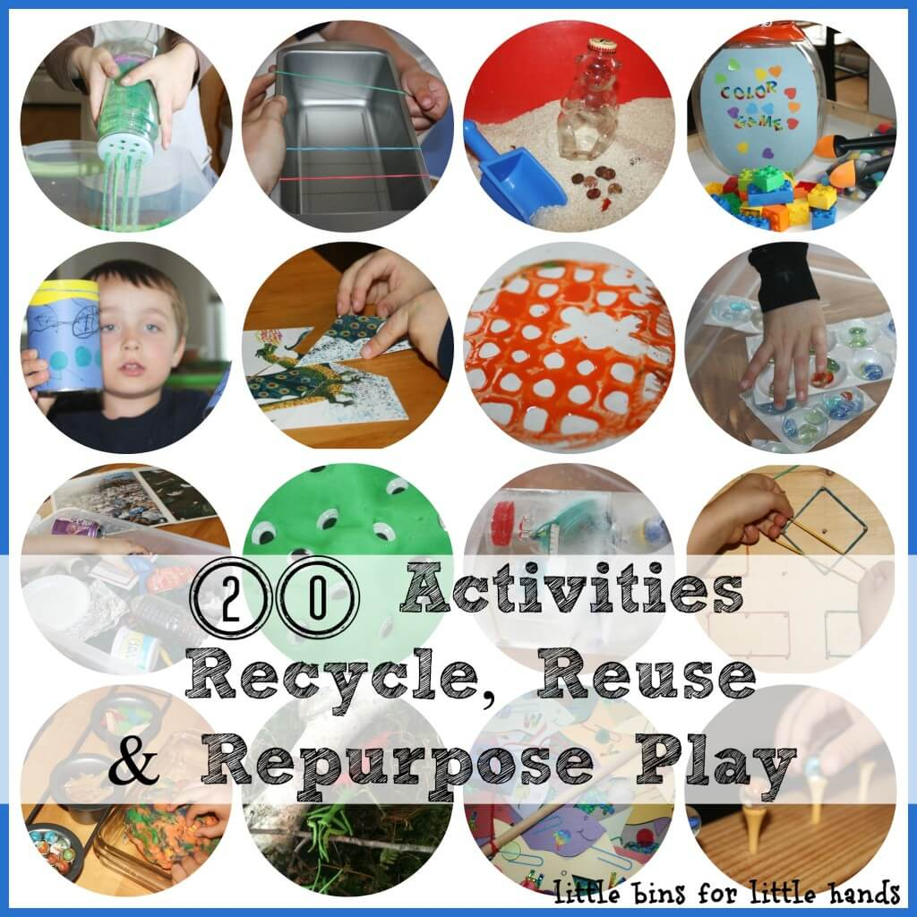 20 Activities Recycle Recreate