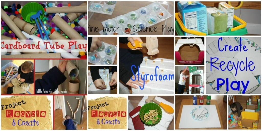 20 Activities Repurpose Recyclables