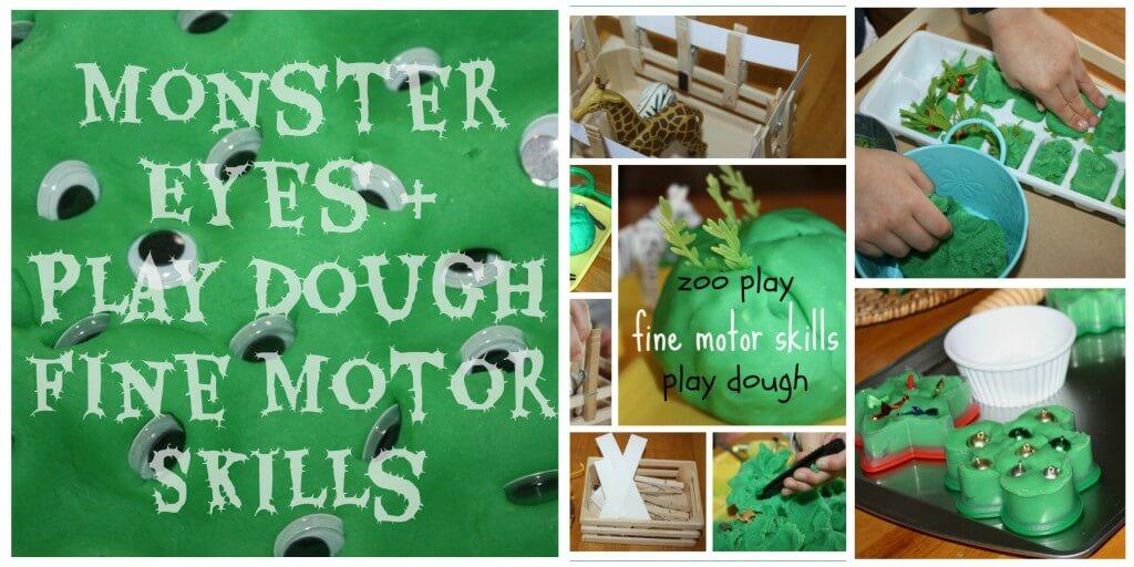 20 Activities Reuse play dough a