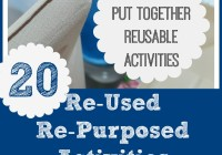 20 Reusable Activities
