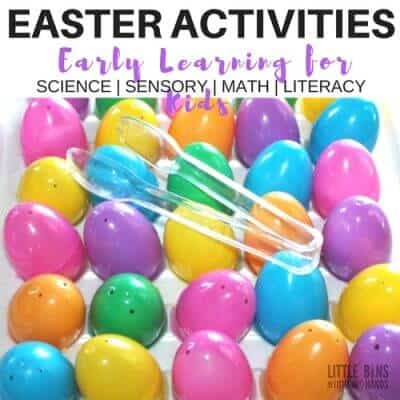 Easter Early Learning Activities and Easter Science Ideas for Kids