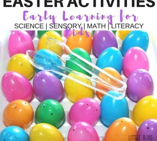 Easter Early Learning Activities and Science Ideas for Kids
