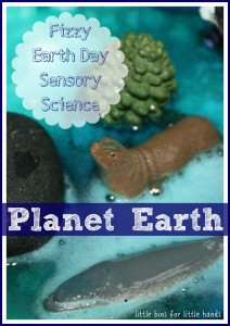 Earth Day Baking Soda Science Experiment