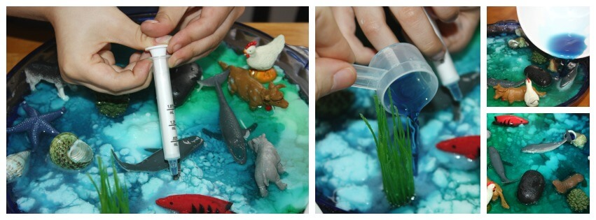 Earth Day Baking Soda Science Play