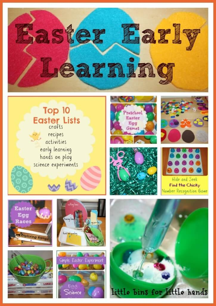 Easter Early Learning Top 10 List