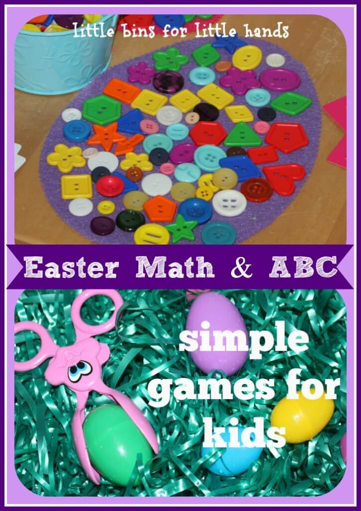 Easter Math and Alphabet Games