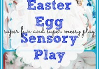 Easter Messy Sensory Play Activitity