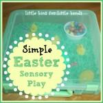Easter Sensory Bin To Go