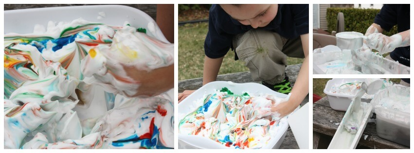 Easter messy sensory play messy play