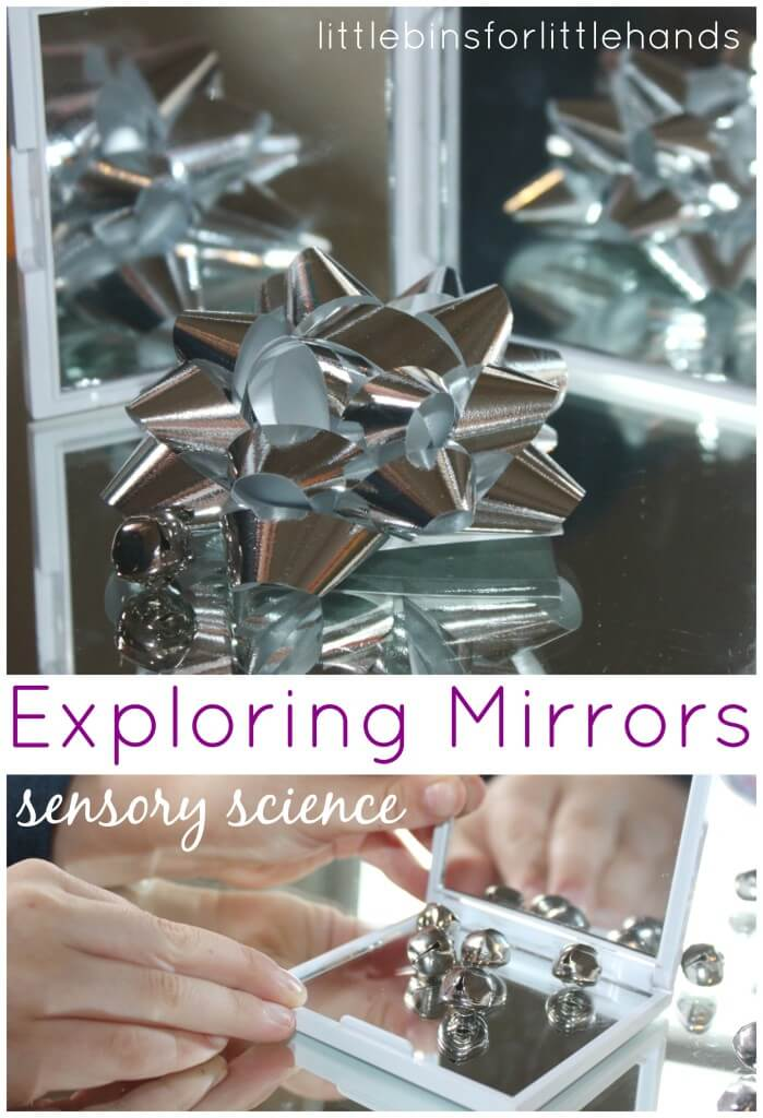 Exploring Reflections Mirror Science Sensory Play Learning