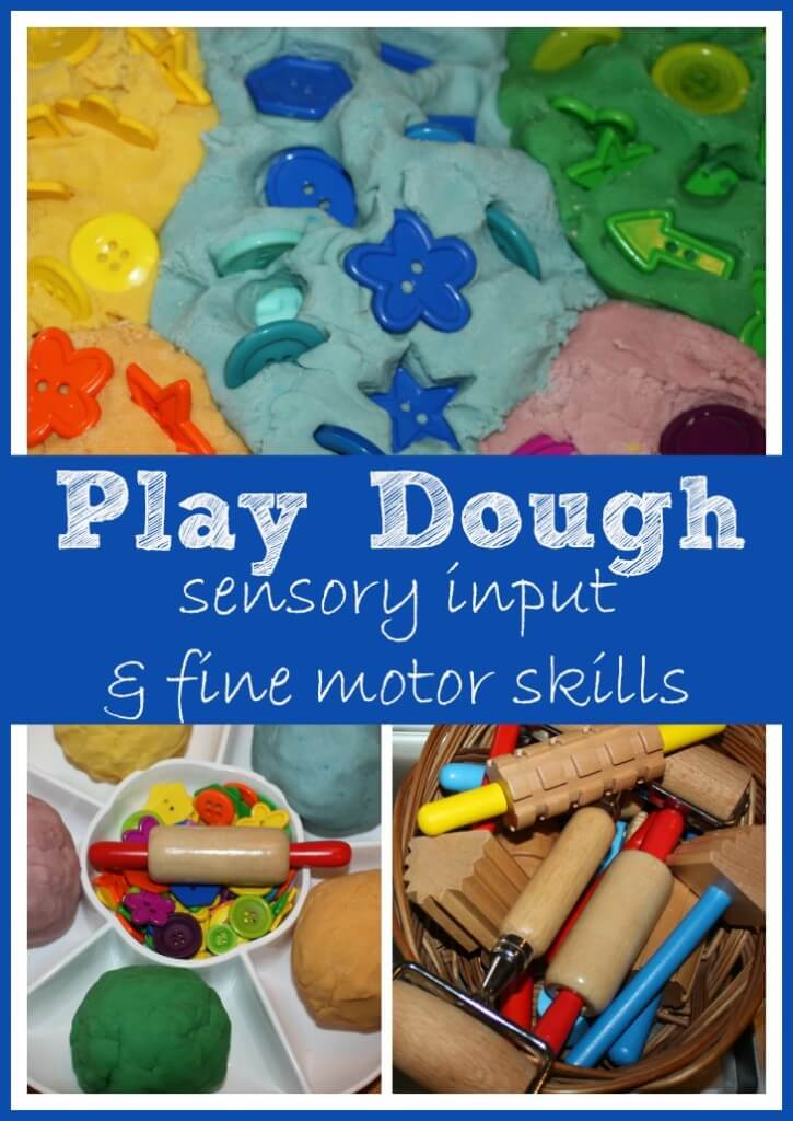 Play Dough Sensory Input & Fine Motor Skills