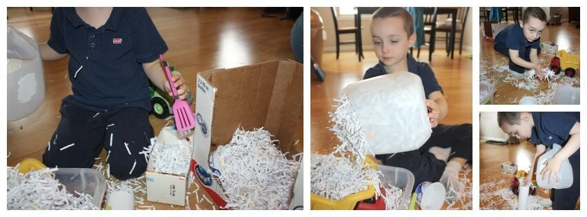 paper sensory bin play 2