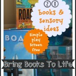 20 books and sensory play ideas 2