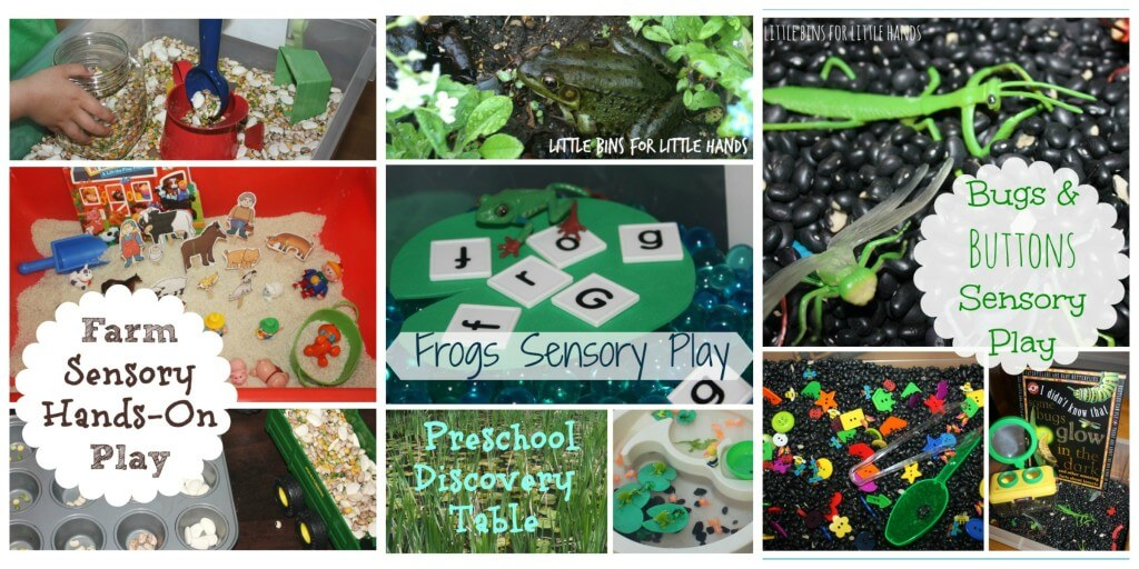 20 books and sensory play ideas group 1