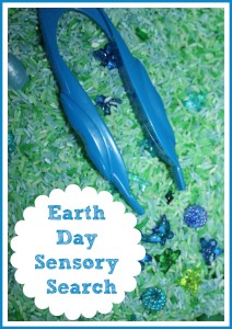 Earth Day Sensory Search