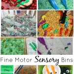 Fine Motor Sensory Bins