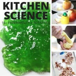 How to set up kitchen science experiments with kids