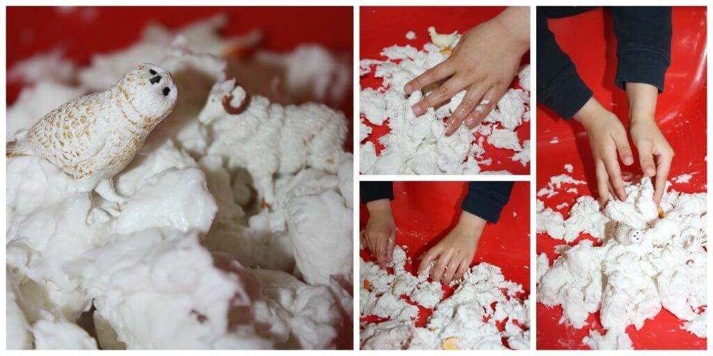 Messy Sensory Play Clean Mud Farm Play