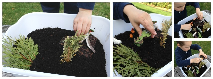 Messy Sensory Play Experiment Dirt and Mud Play