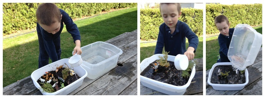 Messy Sensory Play Experiment Mud Making