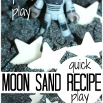 Moon Sand Sensory Recipe Space Sensory Play