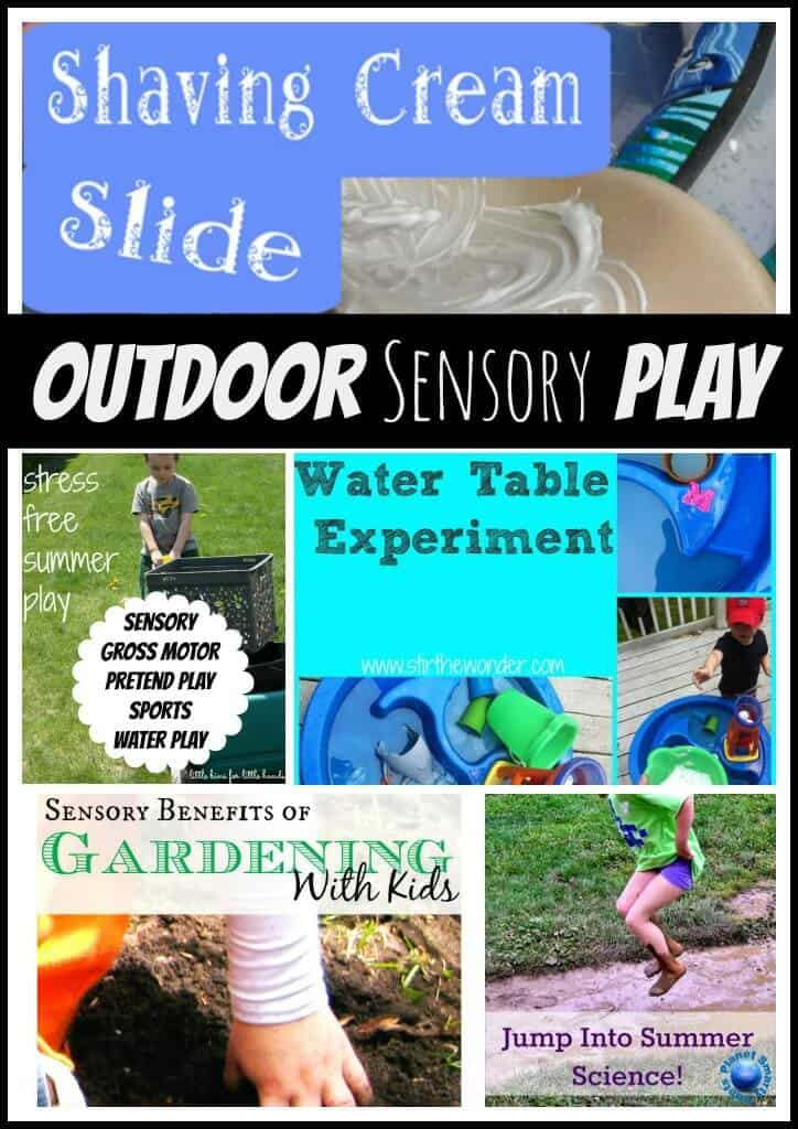 Outdoor Sensory Play Activities
