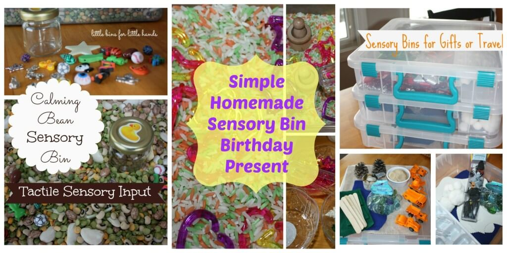 Sensory bins To Go