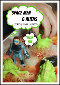 Space Baking Soda Science