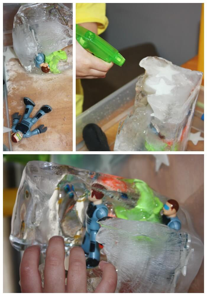 Space Ice Melt Science 3