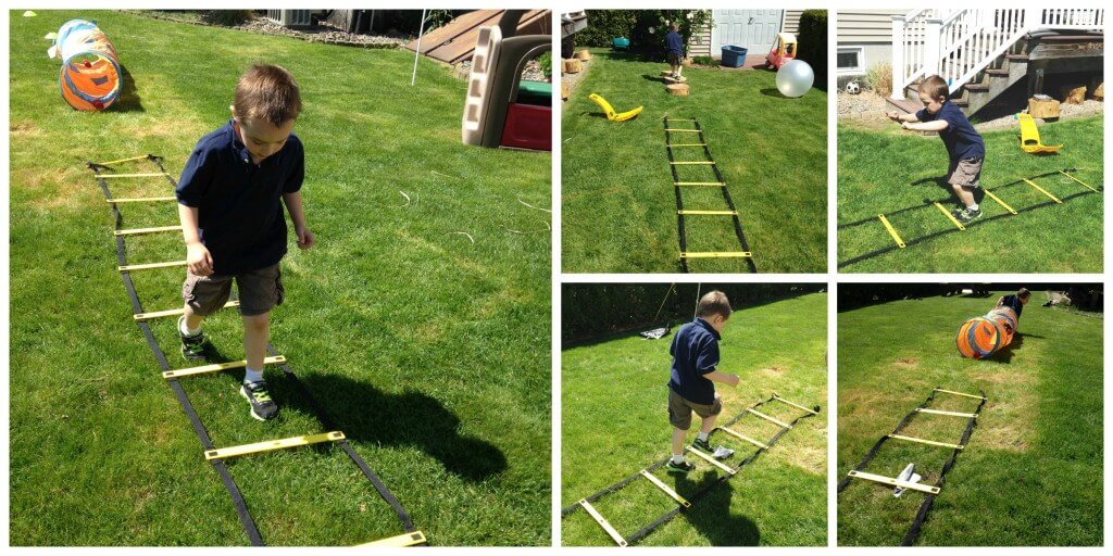 backyard Obstacle Course