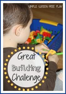 building blocks activities challenge
