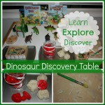 dinosaur discovery table