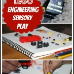 engineering with legos sensory play activity
