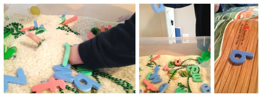 pirate sensory bin play 2