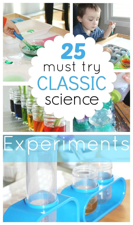 science experiments fair projects classic activities must try preschool easy experiment fun chemistry kindergarten grade expirements kid littlebinsforlittlehands students