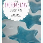 4 frozen stars sensory play activities